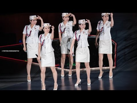 North Korean Moranbong Band The World's Most Famous Songs US Brazil Russia France