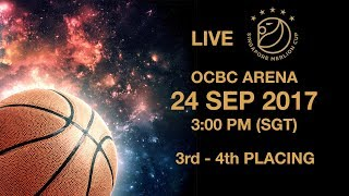 Basketball 🏀  Battle for third place | Singapore Merlion Cup 2017