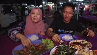 Makan seafood di Mukmin ikan bakar