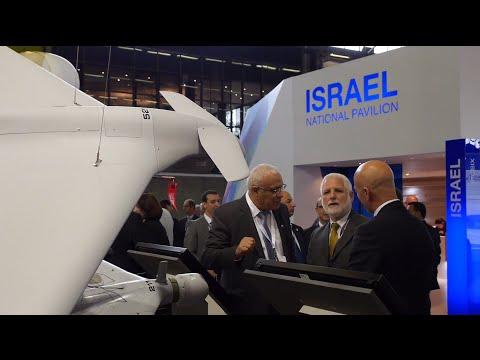watch Israel's largest defense technologies display at Eurosatory '14