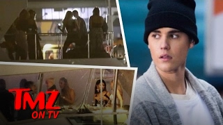 Justin Bieber's On a Yacht With Hot Chicks | TMZ TV