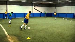 Technical training for football/soccer players - Learn the Brazilian Way