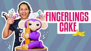 How To Make A MIA FINGERLINGS MONKEY Out Of Vanilla CAKE & Fondant   Yolanda Gampp   How To Cake It
