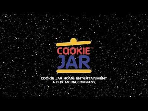Cookie Jar Home Entertainment logo with the DHX Media Byline