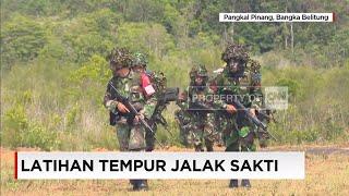 Sigap, Tangkas & Handal Personel TNI dalam Latihan Tempur Jalak Sakti