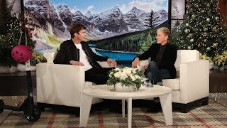 Ellen Helped Rekindle Ashton Kutcher and Dax Shepard
