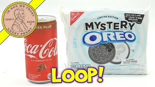 Mystery Oreo Cookies With Coca Cola Coffee From Japan - Fruit Loop?