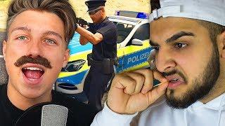 Wenn du mit Ausländern Polizei Autos klaust 😂