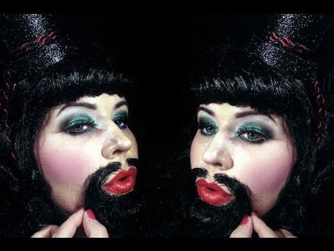 Xxx Mp4 Halloween Makeup Tutorial 7 Bearded Bettie 3gp Sex