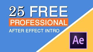 25 After Effects Template | After Effects Intro Templates Free Download | #HiTechSociety