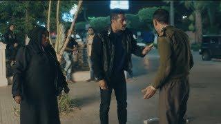 زين القناوي ينقذ سيدة كبيرة من ايد امين شرطة - مسلسل نسر الصعيد - محمد رمضان