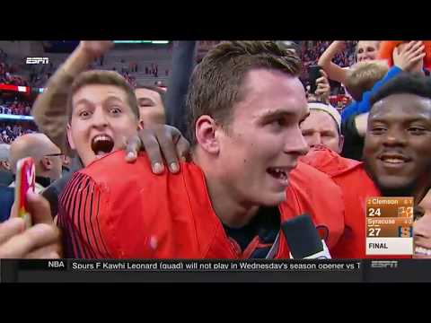 Last 6 Minutes of the GREATEST UPSET OF ALL TIME 2 Clemson vs. Syracuse Game. WORLD SHOCKED
