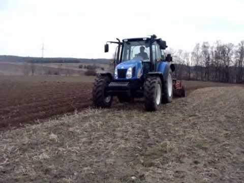 New Holland t5050 rabe werk 2 4m