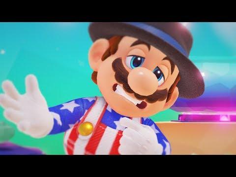 Lunch in Luncheon Super Mario Odyssey Deluxe