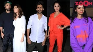 Bollywood Stars attend the screenings of 'De De Pyaar De' & Arjun Kapoor starrer India's Most Wanted