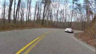 Evo & Porsche Boxster Spyder Lightweight @ Tail of the Dragon