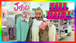 JUSTICE FALL HAUL | SUNDAY FUNDAY | We Are The Davises