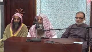 SAWAL JAWAB SHAIKH TALIB UR REHMAN HAFIZULLAH MASJID SHATI JEDDAH 3 /6/2016