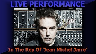 Synthesizer Sounds - Jean Michel Jarre - In The Key Of - Dual Behringer VP1 Pedals - AWESOME !
