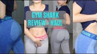 GYM SHARK REVIEW + TRY ON HAUL | booty leggings