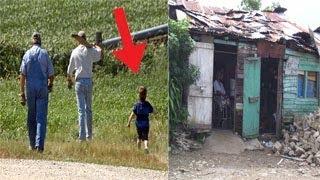 """أب غني أخذ ابنه ليعلمه كيف تكون حياة الفقراء """"لكن ما فعله الابن صادم مالم تتوقعه"""""""