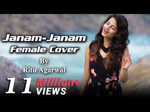 Janam Janam Female Cover By Voiceofritu Srk Kajol Arijit Singh Dilwale