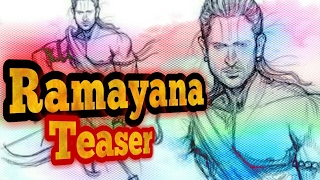 Ramayan(2018) |Teaser| First Look |500 crore Budget|with Bollywood & Tollywood Actors.