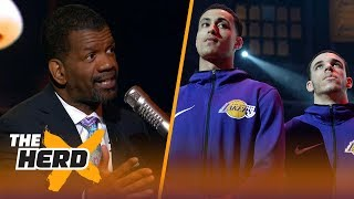 Rob Parker joins Colin Cowherd to talk about the Lakers recent antics | NBA | THE HERD