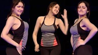 Sayesha Saigal Hot Body show Dance