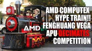 Vega 7nm | FengHuang Vega APU Decimates Competition | AMD Promises New Hardware at Computex