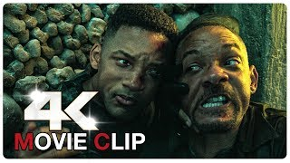 Young Will Smith vs Old Will Smith - Fight Scene | GEMINI MAN (2019) Movie CLIP 4K