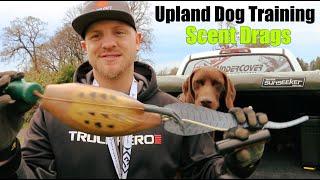 Upland Bird Dog Training   Scent Drags