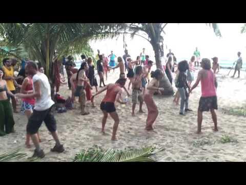 Indian Goa Beach Dance