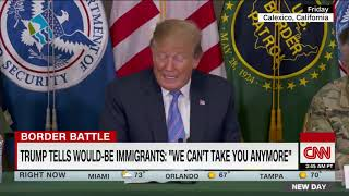 CNN anchor confronts Trump 2020 board member over immigration