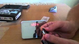 Reloj Espia Multifunción con Sensor de Movimiento y grabación 24 horas