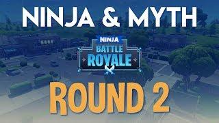 Ninja & Myth Round 2!! Fortnite Battle Royale Gameplay