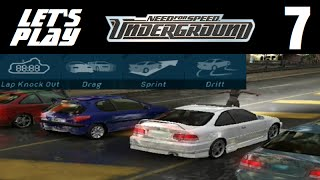 Let's Play Need for Speed: Underground - Part 7 - Cover Boy