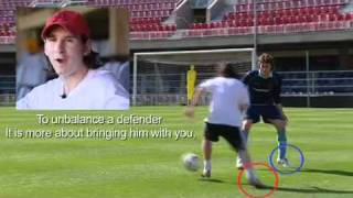 Lionel Messi's Dribbling Lesson HD
