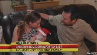 Florida Hospital's Smallest Baby is Home for Christmas