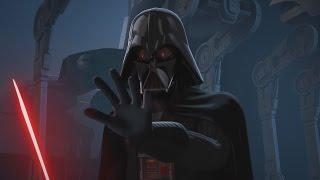 Star Wars Rebels - Kanan & Ezra vs Darth Vader [1080p]