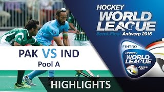 Pakistan v India Match Highlights - Antwerp Men