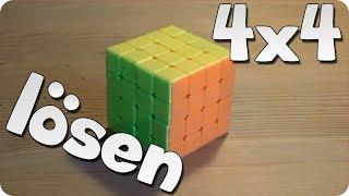 4x4 Rubik's Revenge / Zauberwürfel lösen   Anfängermethode