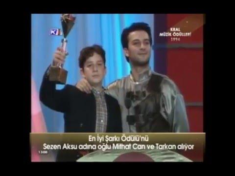 TARKAN Kral TV Video Müzik Ödülleri 1994