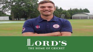 MCCU bowler Stuart Whittingham | MCC/Lord's