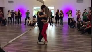 Ronie Saleh & Alyona Fortunova, Moscow kizomba weekend, 23 sep 2017