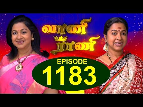 Vaani Rani - Episode 1183 - 10/02/2017