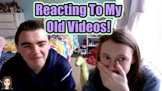 Reacting To Old Videos With My Brother! | Kelli Maple