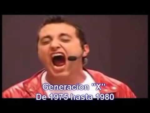 Andres Lopez DVD La Pelota de Letras Generación X Confunde y reinarás. Inglés. No me puedo comer eso