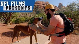 "Joe Hawley's Retirement Journey with his Dog ""Man Van Dog Blog""   NFL Films Presents"