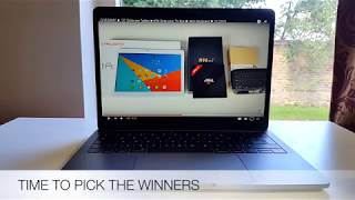 """GIVEAWAY WINNERS ANNOUNCED ► 10"""" Octacore Tablet ►H96 Octa-core TV Box ► Mini Keyboard"""
